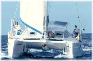 Genesis sailing
